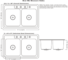 Width Of Kitchen Cabinets Standard Size Kitchen Sink Cabinet Sizes 12 Quantiply Co