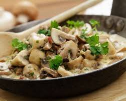 cuisiner chignons frais recette croûte aux chignons de à la crème facile rapide