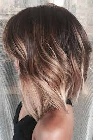 brown and blonde ombre with a line hair cut 18 classy and fun a line haircut ideas hairstyles for any woman