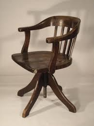 chaise de bureau en bois à chaise de bureau en bois ancien fauteuil look marine small à