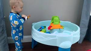 step 2 water works water table step2 water works water table even fun without water youtube