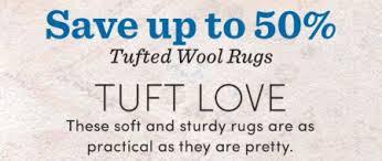 Worldmarket Com Rugs Settlers Market Up To 50 Off Tufted Wool Rugs World Market
