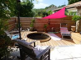 le de terrasse encastrable spa bois haut de gamme et fabriqué en o biozz