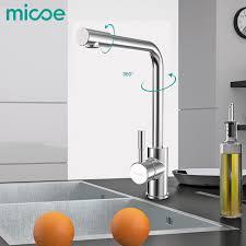 aliexpress com buy micoe modern kitchen sink faucet single