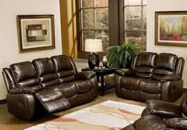 Reclining Sofas And Loveseats Abbyson Living Levari Reclining Leather Sofa And