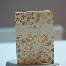 folded wedding invitations gold paisley indian style folded wedding invitations by beautiful