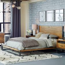 Modern Wooden Bed Frames Uk Best 25 Industrial Bed Frame Ideas On Pinterest Pipe Bed