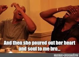 Kanye And Jay Z Meme - create meme kanye west jay z laughing jay z kanye west