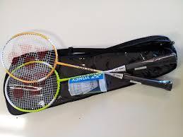 amazon com 2013 yonex racket combo set badminton sets sports