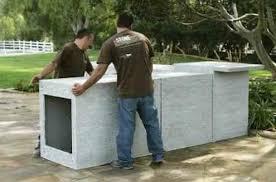 prefabricated outdoor kitchen islands modular outdoor kitchen cabinets captainwalt com