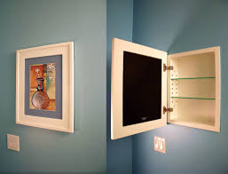 concealed cabinet 14