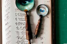 halloween decorations surreal magnifying glasses from country