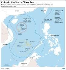 South China Sea Map Beijing Builds Radar In South China Sea U2014think Tank Inquirer Net