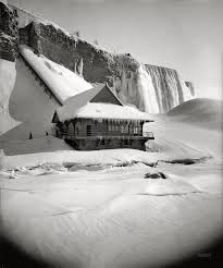 niagara falls frozen 1911 wow beautiful images