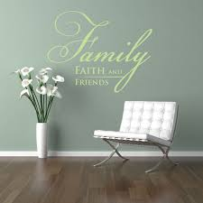 Religious Wall Decor Wall Decor Wall Art Wall Decals Faith Family And Friends