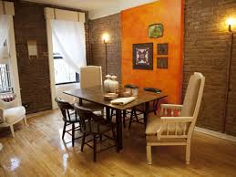 Orange Accent Wall by Decorative Brick Wall Design For Your Interior 23735 Interior Ideas