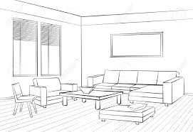 interior design sketches living room wooden free standing towel
