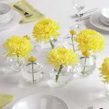 cheap centerpiece ideas cheap wedding centerpieces with yellow flowers ipunya
