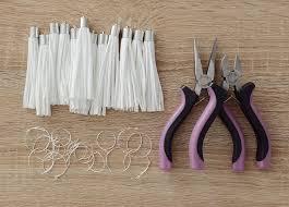 make curtain rings images Easy upgrade diy tassel shower curtain rings curbly jpg