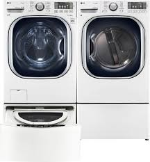 Pedestal Washing Machine Lg Wm4370hwa Front Load Washer U0026 Dlgx4371w Gas Dryer W Sidekick