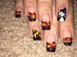 nail art thanksgiving nail art designs for beginners diy easy
