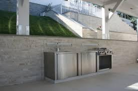 cuisine outdoor cuisine classique en inox d extérieur outdoor kitchen 1