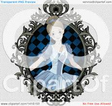 halloween frames transparent background clipart of a halloween zombie cinderella princess in an ornate