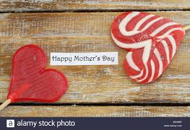 s day lollipops happy s day card with two heart shaped lollipops stock photo