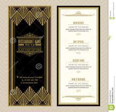 site deco vintage vintage frame restaurant menu design stock vector image 42508494