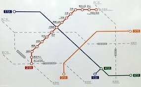 Shenzhen Metro Map In English by Urbanrail Net U003e Asia U003e China U003e Dongguan Metro