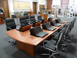 Modern Meeting Table Smartdesks Modern Conference Tables Contemporary Conference