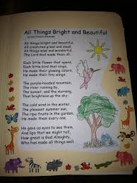 being blessed poetry lapbook