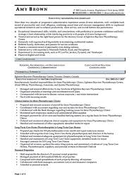 Sample Resume Of Executive Assistant by Sample Executive Assistant Resume Executive Assistant Resume Is