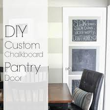 grace lee cottage customized chalkboard pantry door