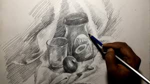 pencil for painting still drawing with pencil for beginners how to draw still