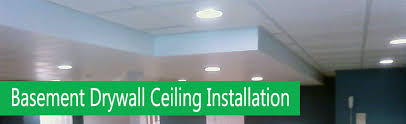how to install drywall on a basement ceiling u2013 home painters toronto
