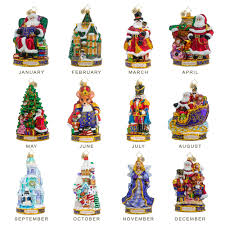 nutcracker ornaments christopher radko nutcracker suite christmas ornament set 12