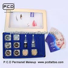 professional permanent makeup p c d professional permanent makeup ink set for eyebrow tattoo