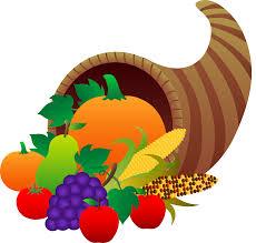 thanksgiving cornucopia free clip