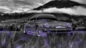 purple porsche 911 turbo porsche 911 turbo 1976 tuning crystal nature car 2014 el tony