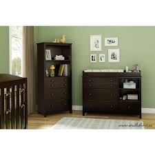 Espresso Changing Table South Shore Smileys 4 Drawer Espresso Changing Table