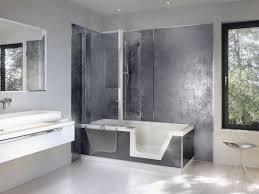 Step In Bathtub Bathtubs Idea Inspiring Walk In Bathtub Shower Combo Walk In
