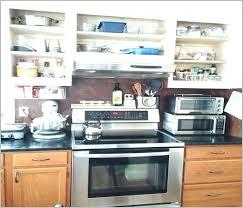 kitchen countertop storage ideas microwave storage ideas kitchen counter storage microwave shelf