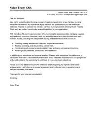 nursing job cover letter examples cover letter example for