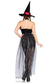 leg avenue witch costume burgundy black 3 pc celestial witch costume