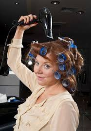 forced to wear hair rollers hidden dangers of your hair dryer heated tools are most common