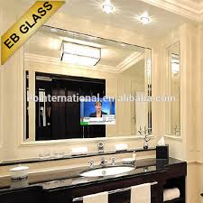 tv in the mirror bathroom bathroom tv mirror magic mirror glass for liviing room hotel buy