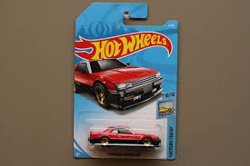 nissan hotwheels wheels 2018 factory fresh u002782 nissan skyline r30 red black