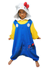 Hello Kitty Halloween Costumes by Kigurumi Shop 70 U0027s Hello Kitty Kigurumi Kids Animal Onesies