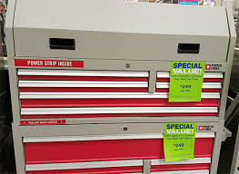 Cabinet Tops At Lowes Hands On Porter Cable Tool Storage Combo Is Inexpensive But Is